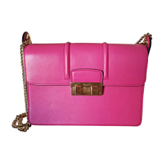 Lederhandtasche LANVIN Pink,  altrosa