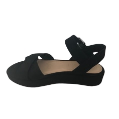 Sandales compensées BIMBA & LOLA Noir