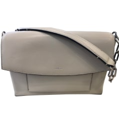 Leather Handbag LANCEL Beige, camel