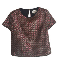 Blouse SÉZANE Red, burgundy