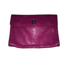 Leather Clutch LONGCHAMP Pink, fuchsia, light pink