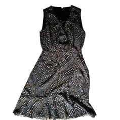 Robe courte GUESS imprimé noir et blanc