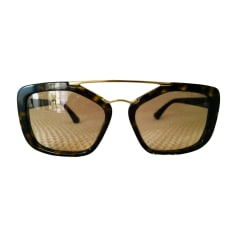 Sunglasses PRADA Brown