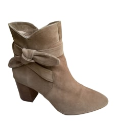 High Heel Ankle Boots MELLOW YELLOW Beige, camel