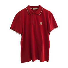 polo moncler rouge