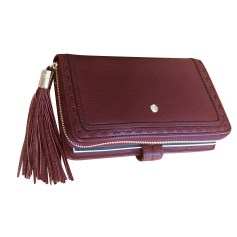 Wallet LANCEL 1er Flirt Red, burgundy