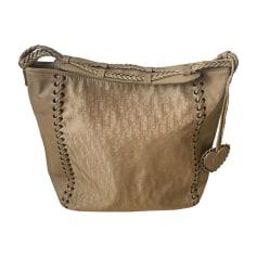 Non-Leather Handbag DIOR Beige, camel