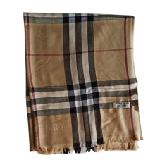 Scarf BURBERRY Beige, camel