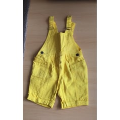 Short Overalls  BABYMINI PAR CATIMINI Yellow