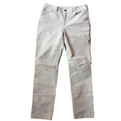 Jeans droit ARMANI JEANS Beige, camel