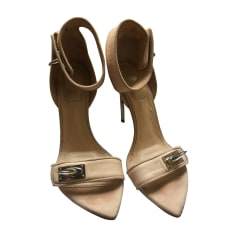Heeled Sandals GIVENCHY nude rosé