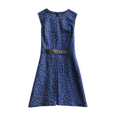 Robe courte 3.1 PHILLIP LIM Bleu, bleu marine, bleu turquoise