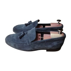 Loafers A. TESTONI Blue, navy, turquoise