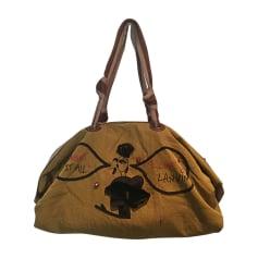 Non-Leather Handbag LANVIN Khaki