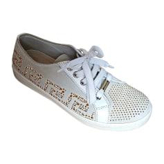 Sneakers VERSACE White, off-white, ecru