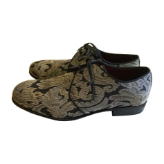 Loafers DOLCE & GABBANA Golden, bronze, copper