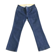 Jeans dritto STELLA MCCARTNEY Blu, blu navy, turchese