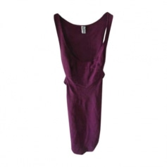 Midi-Kleid JEAN PAUL GAULTIER  Bordeaux