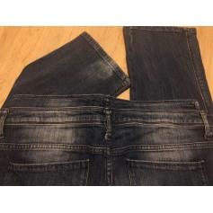 Jeans droit MAISON SCOTCH Bleu, bleu marine, bleu turquoise