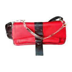 Non-Leather Handbag DIOR Red, burgundy