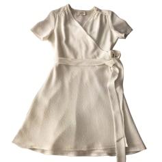 Mini-Kleid SÉZANE Weiß, elfenbeinfarben