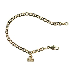 Bracelet LANVIN Golden, bronze, copper