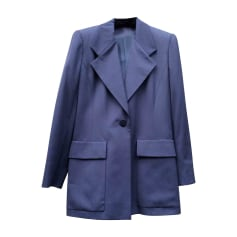 Blazer, veste tailleur CÉLINE Bleu, bleu marine, bleu turquoise