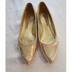 Ballet Flats BUFFALO Golden, bronze, copper