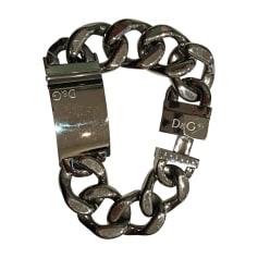 Bracelet D&G Argenté, acier
