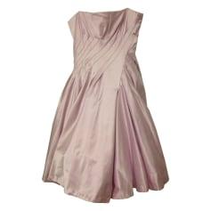 Corset Dress TARA JARMON Pink, fuchsia, light pink