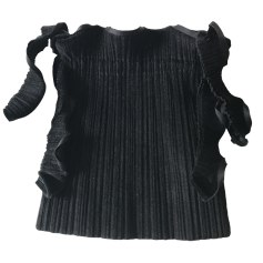 Non-Leather Handbag PLEATS PLEASE Black