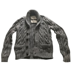 Vest, Cardigan ABERCROMBIE & FITCH Gray, charcoal