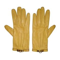 Handschuhe HERMÈS cognac