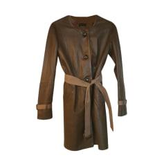 Manteau femme en plume d'oie
