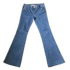 Jeans svasato, boot-cut PINKO Blu, blu navy, turchese