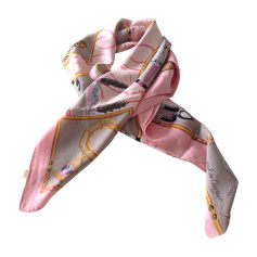 Silk Scarf CARTIER Pink, fuchsia, light pink
