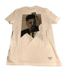T-shirt NEIL BARRETT White, off-white, ecru