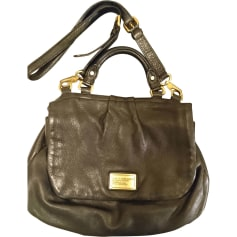 Leather Shoulder Bag MARC BY MARC JACOBS Black