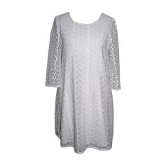 Mini Dress DIANE VON FURSTENBERG White, off-white, ecru