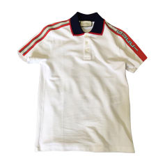 Polo GUCCI White, off-white, ecru