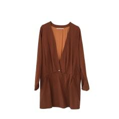 Robe courte VALENTINE GAUTHIER Beige, camel