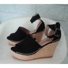 Sandales compensées LILY SHOES Noir