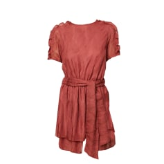 Mini Dress SESSUN Pink, fuchsia, light pink
