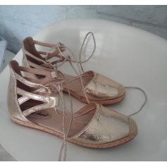 Sandales plates  LILY SHOES Doré, bronze, cuivre
