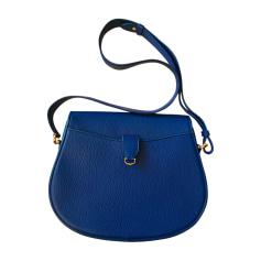 Schultertasche Leder CARTIER Blau, marineblau, türkisblau