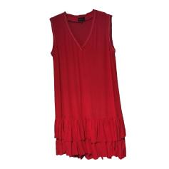 Robe courte BERENICE Rouge, bordeaux