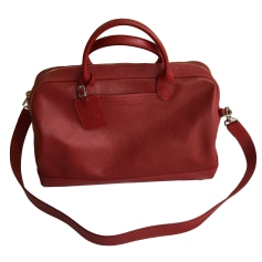 Shoulder Bag LONGCHAMP Red, burgundy