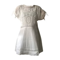 Mini-Kleid ISABEL MARANT Weiß, elfenbeinfarben