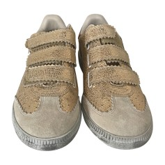 Sneakers ISABEL MARANT Golden, bronze, copper