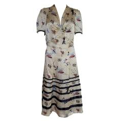 Midi-Kleid TOMMY HILFIGER Mehrfarbig